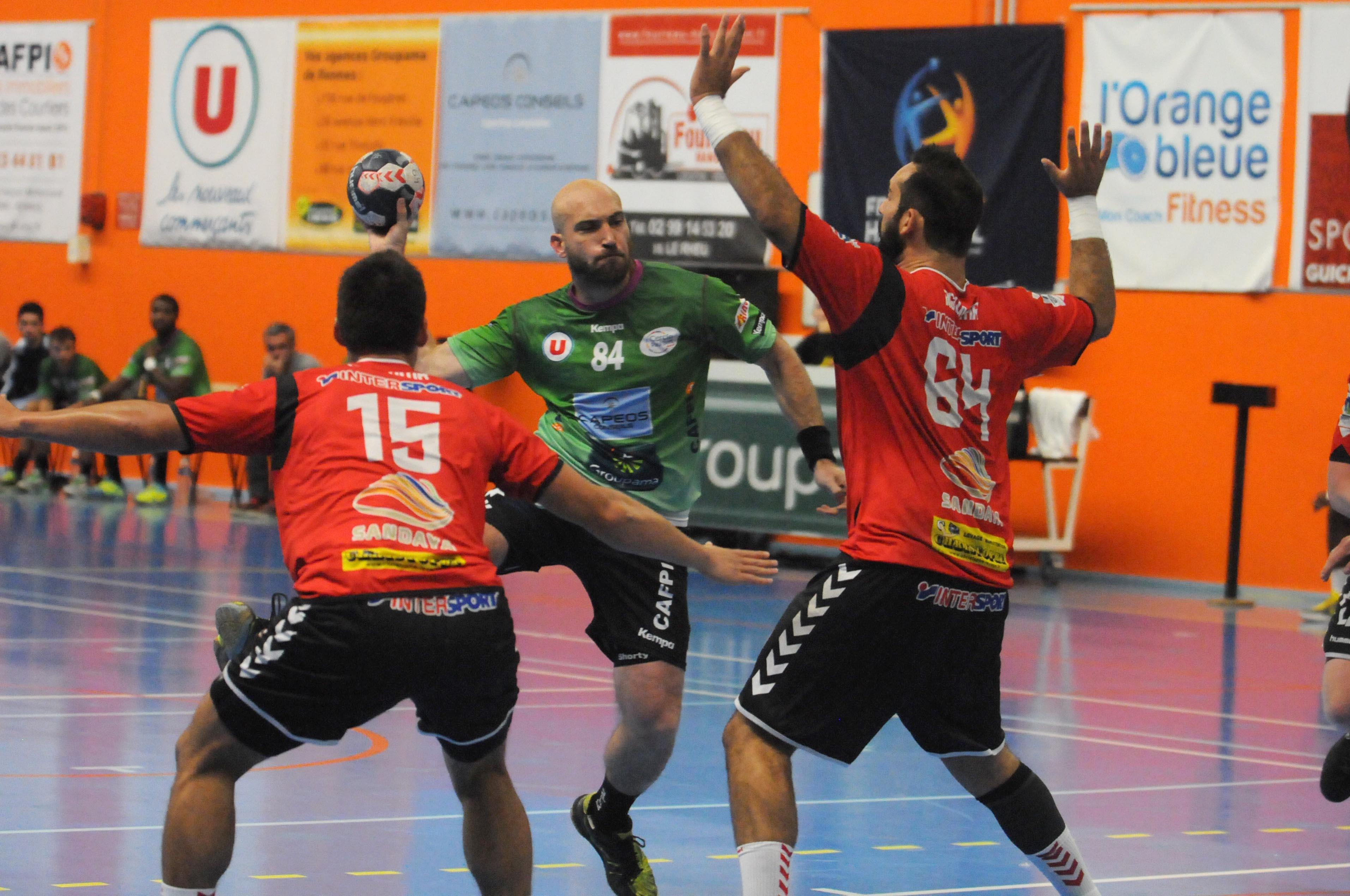 Handball 19/09/2015 N1M CPB Rennes - Caen Equipe : CPB Rennes Pierre Le Meur