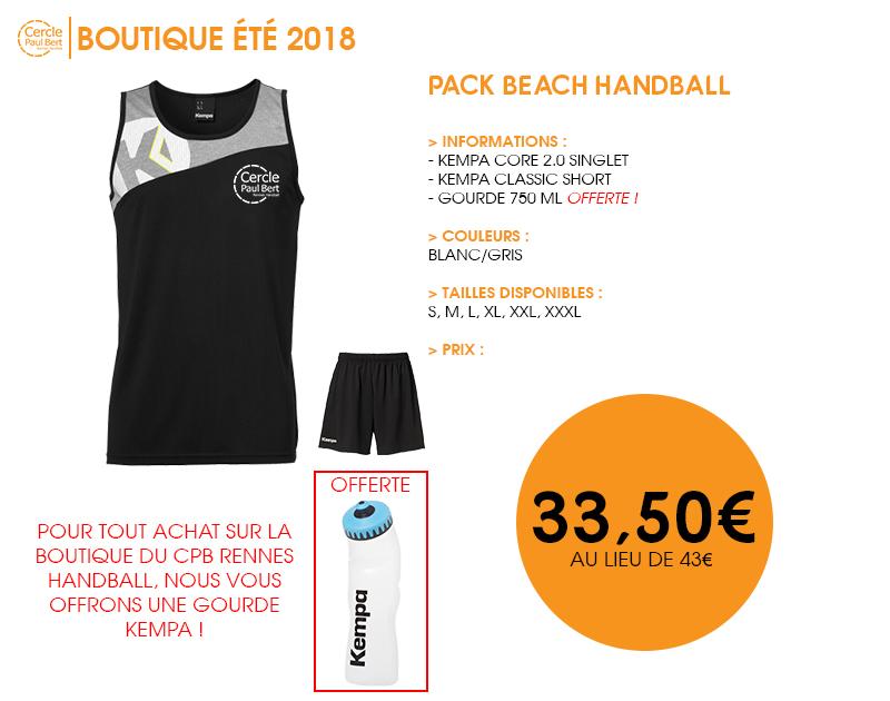Pack-Beach Handball