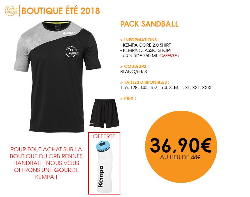 Pack-Sandball