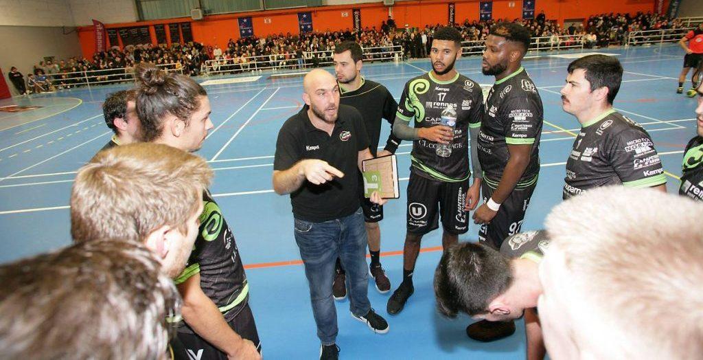 Discipline :Handball Date :30-11-2018 Division : N1M Club : CPB RennesRencontre : CPB Rennes - GonfrevilleNom : P.LE MEUR